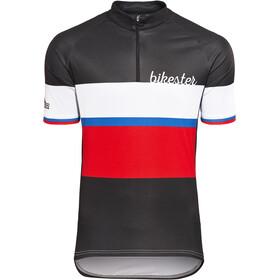 Bikester Basic Team Jersey Heren, black/red